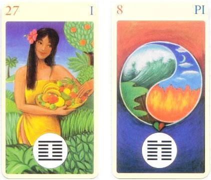 Como Sortear o I Ching com Cartas