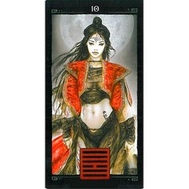 I Ching Dead Moon de Luis Royo publicado pela Founier - Hexagrama 10