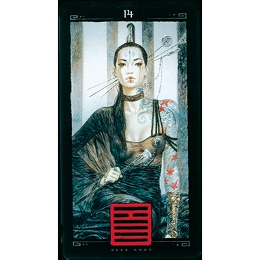 I Ching Dead Moon de Luis Royo publicado pela Founier - Hexagrama 14