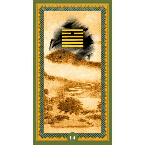 I Ching de Isa Donelli publicado pela Lo Scarabeo - Hexagrama 14