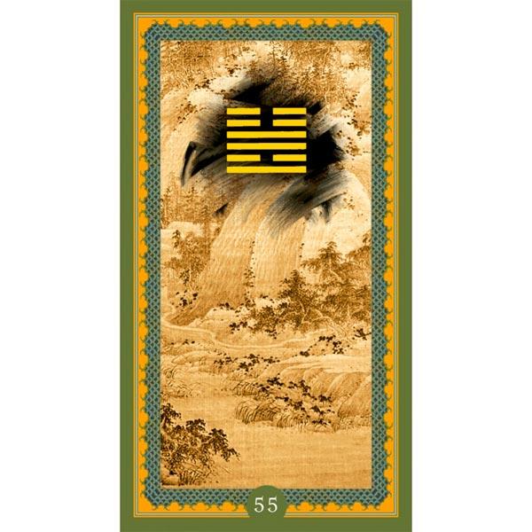 I Ching de Isa Donelli publicado pela Lo Scarabeo - Hexagrama 55