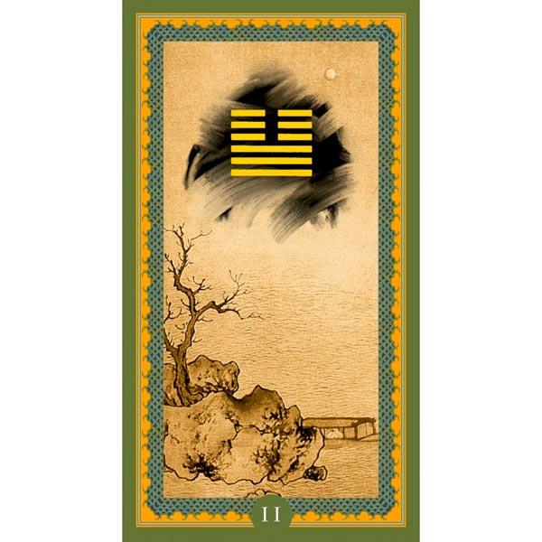 I Ching de Isa Donelli publicado pela Lo Scarabeo - Hexagrama 02