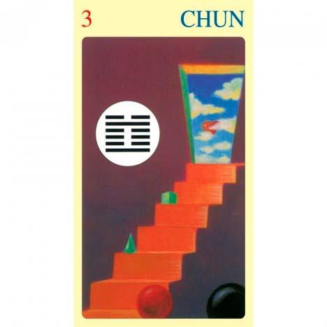 I Ching Of Love de Ma Nishavdo publicado pela Lo Scarabeo - Hexagrama 03