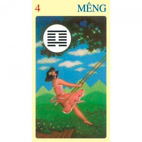 I Ching Of Love de Ma Nishavdo publicado pela Lo Scarabeo - Hexagrama 04