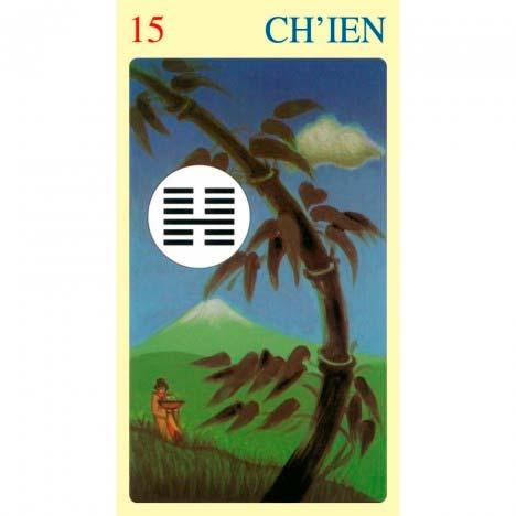 I Ching Of Love de Ma Nishavdo publicado pela Lo Scarabeo - Hexagrama 15